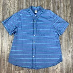 Bonobos Slim Fit Casual Button Front Shirt Blue